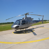 Helicopter AS 350 Eurocopter 1 motorig